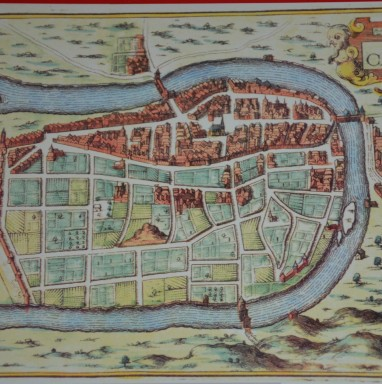 cahors médiéval carte