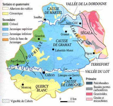 lot carte géologique