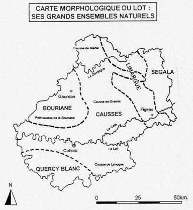 lot carte morphologique