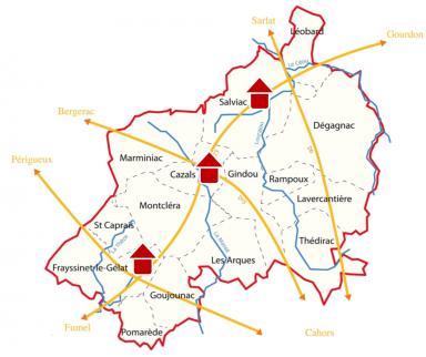 carte CCCS avec médiathèque