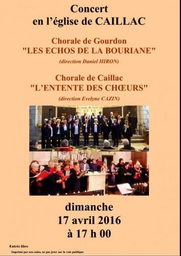 concert Caillac