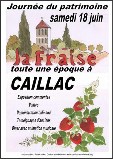 fraise caillac