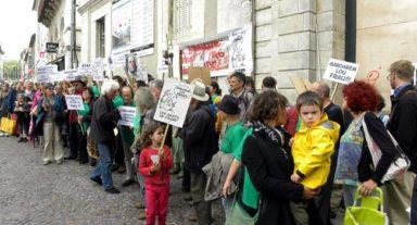 La manifestation du 11 juin à Cahors