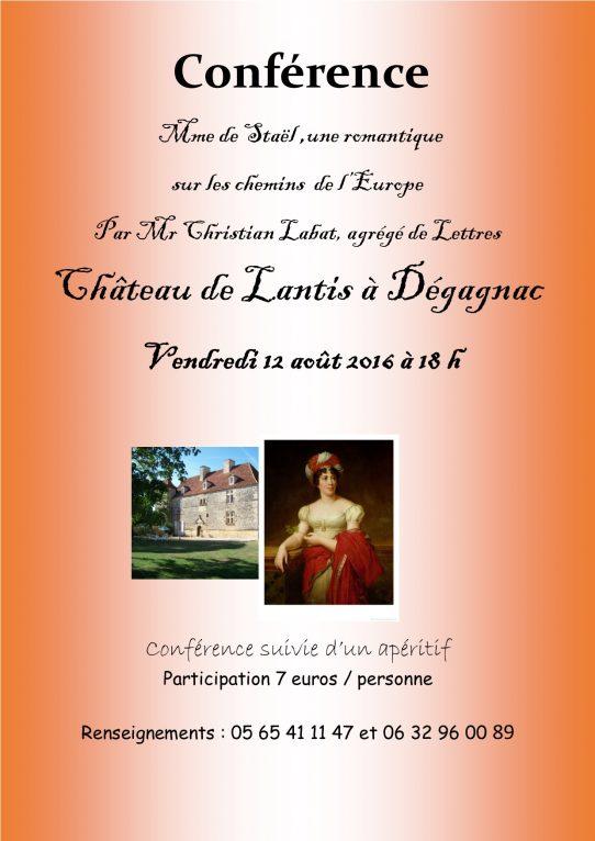 Conférence Mme de Staël(1)