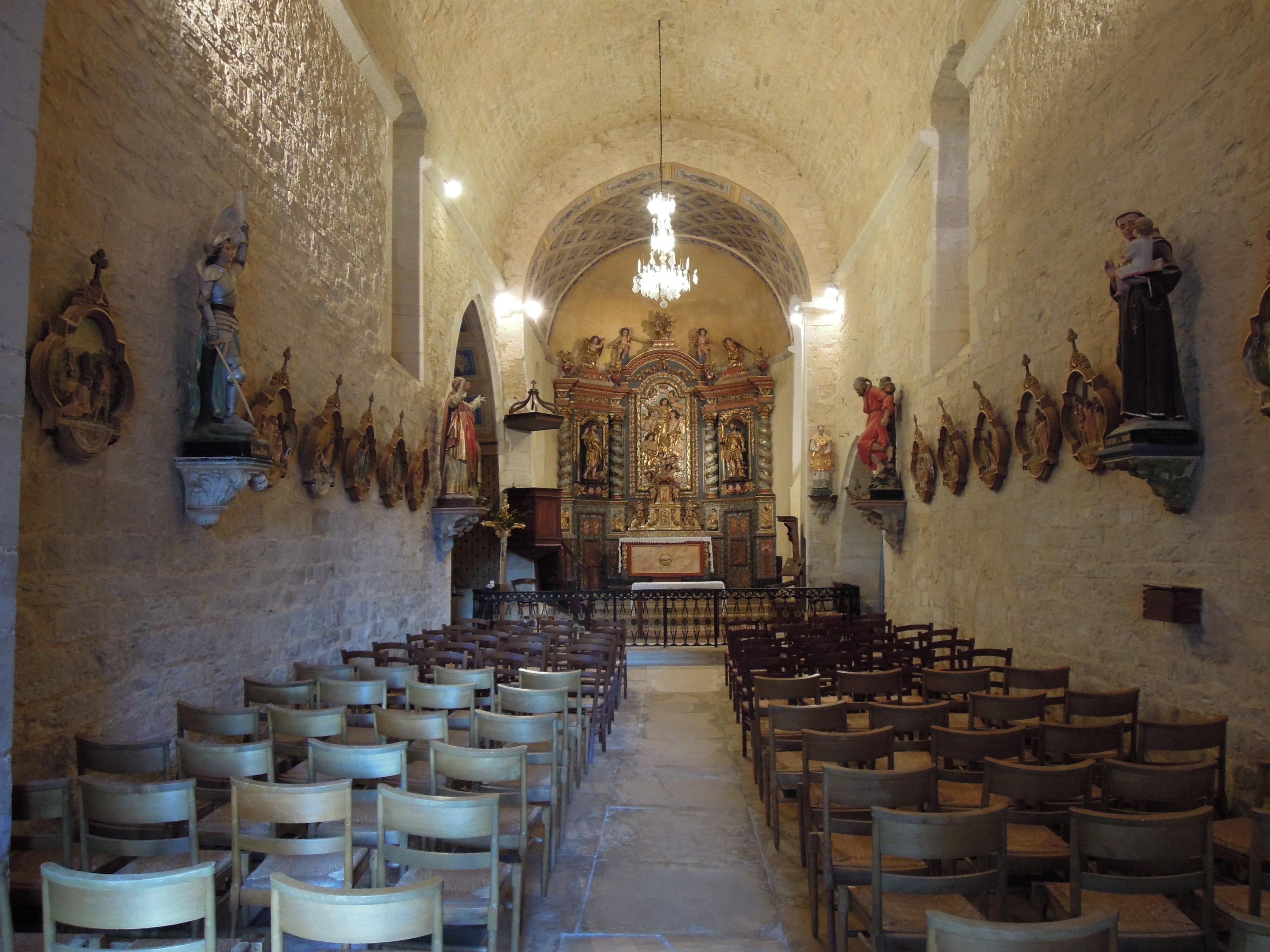lherm église intérieur