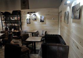 """Expo """"Coeur de Bois"""" au Coffe Shop La Fabrique GOURDON"""