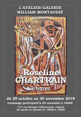 affiche Roseline Chartrain