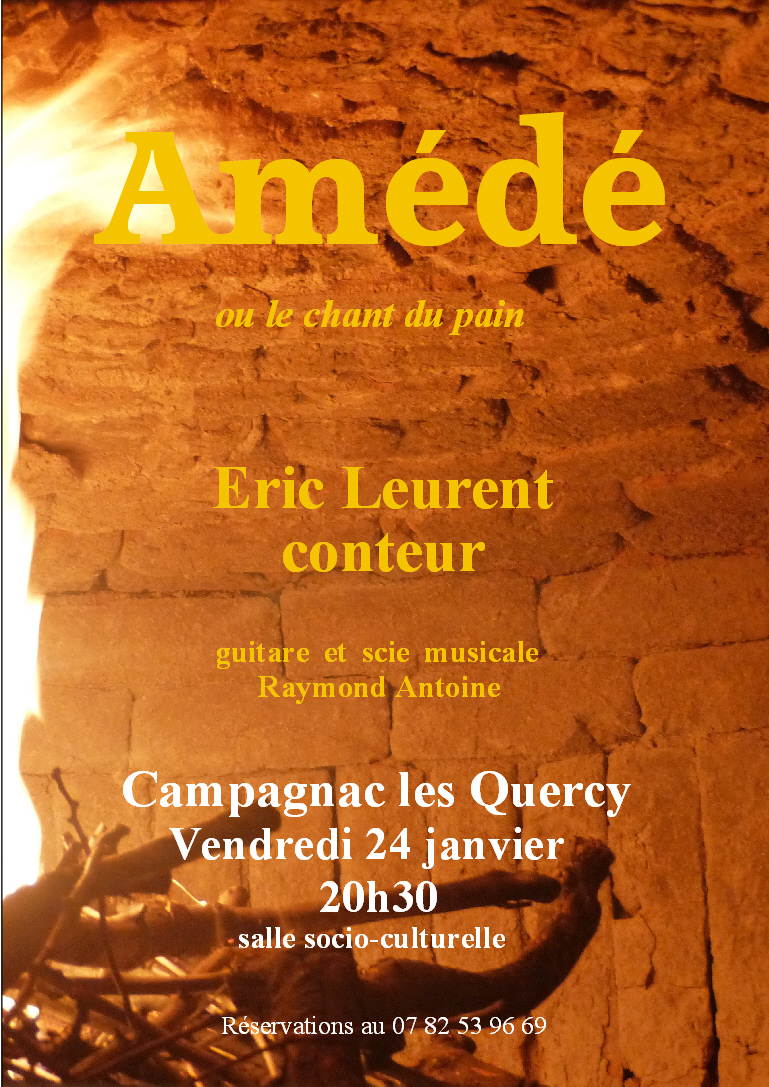 affiche Amédé Campagnac 24-01