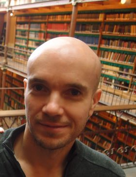 Olivier Degreef, futur collaborateur de la librairie