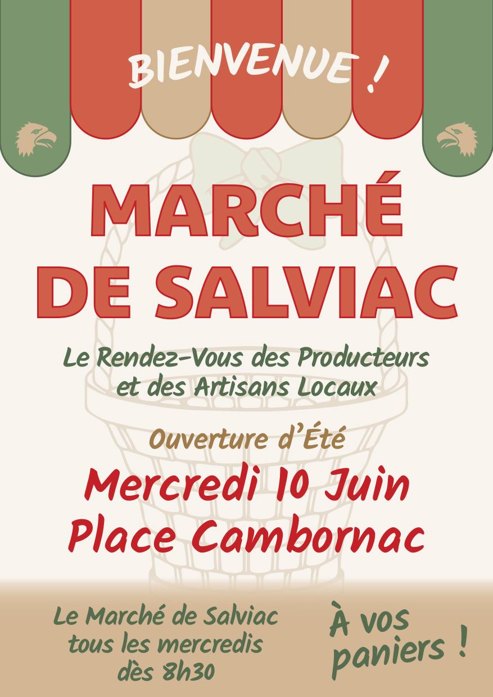 Le marché de Salviac