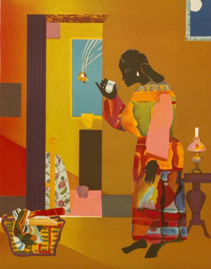 Profitons du confinement découvrons la peinture afro-américaine